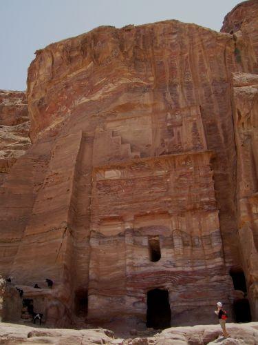 Zdjęcia: Petra, Grobowiec schodkowy, JORDANIA