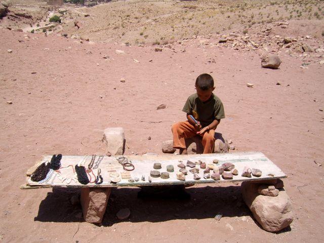 Zdjęcia: Petra, Mały sprzedawca, JORDANIA