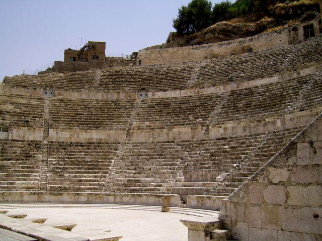 Zdjęcia: Amman, amfiteatr, JORDANIA