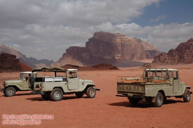 Zdj�cia: Wadi Rum, Wadi Rum, safari, JORDANIA
