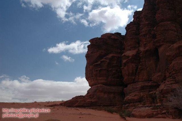 Zdjęcia: Wadi Rum, Wadi Rum, Skały, JORDANIA
