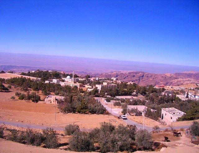 Zdjęcia: między Akabą a Petrą, muhafaz Maan, Jordania z autokaru, JORDANIA