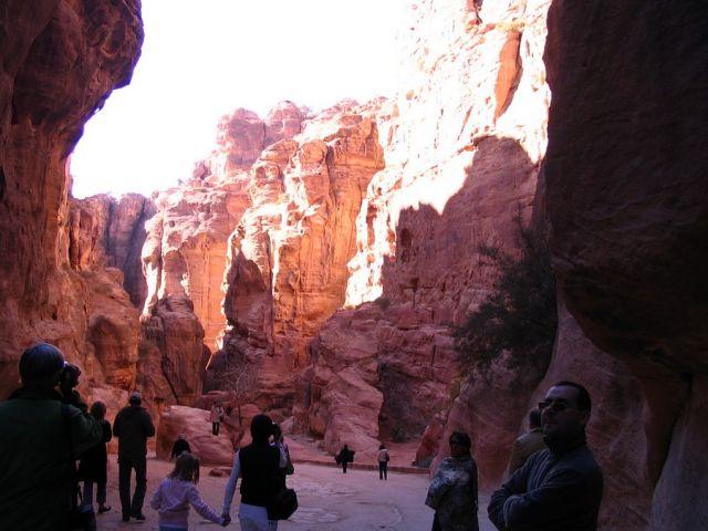 Zdjęcia:  Petra, płd-zach Jordania, droga, JORDANIA