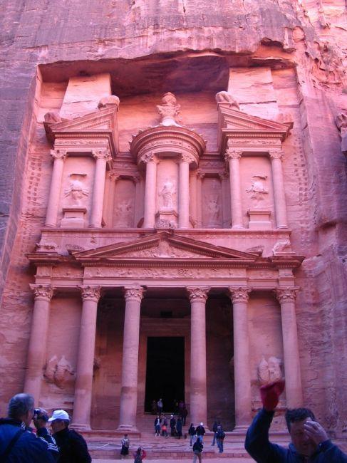Zdjęcia: Petra, płd-zach Jordania, Skarbiec Faraona, JORDANIA