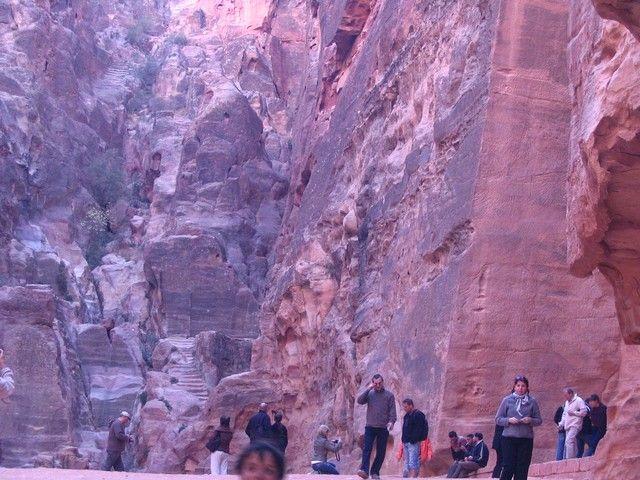 Zdjęcia: Petra, pld-zach Jordania, jeden z trzech placów - rynków, JORDANIA