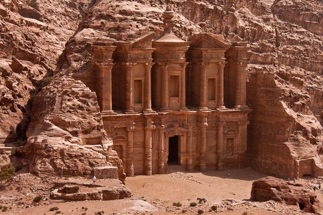 Zdjęcia: Petra, Petra, Monastyr, JORDANIA