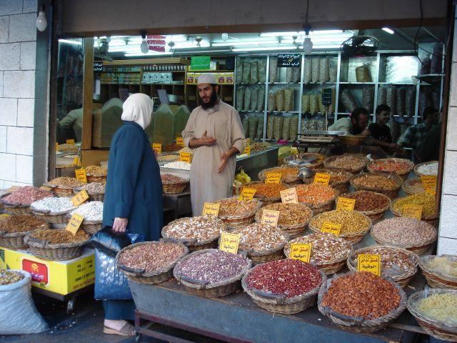 Zdjęcia: amman, sklepik z bakaliami, JORDANIA