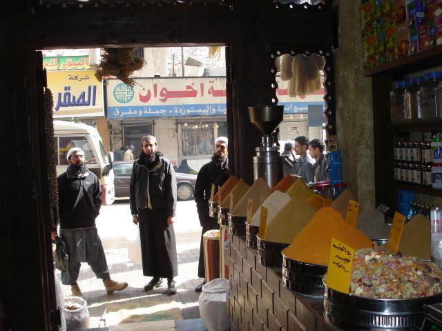 Zdjęcia: Amman, sklep z wonnosciami, JORDANIA
