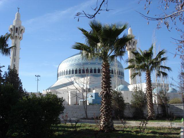 Zdjęcia: Amman, meczet, JORDANIA