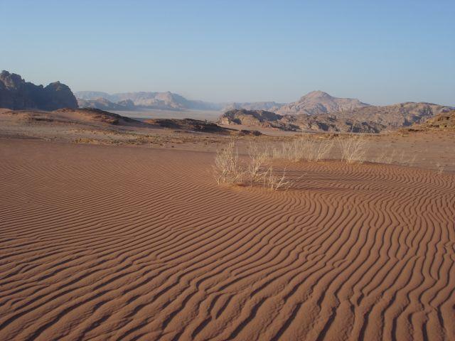 Zdj�cia: Vadi Ram, pustynia, JORDANIA