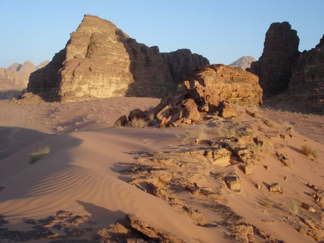 Zdjęcia: Vadi Ram, pustynia, JORDANIA