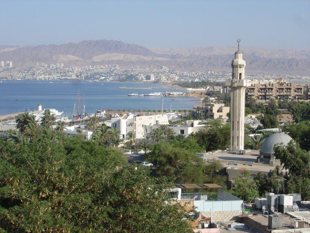 Zdj�cia:  Akaba, Zatoka Akaba, JORDANIA