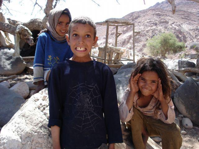 Zdjęcia: Vadi Dana, dzieciaki, JORDANIA
