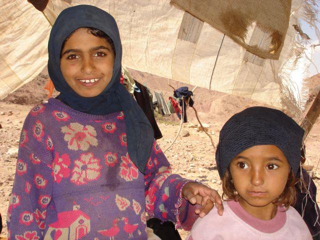 Zdjęcia: Vadi Dana, siostrzyczki, JORDANIA