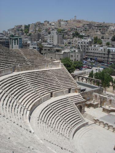 Zdj�cia: Amman, amfiteatr, JORDANIA