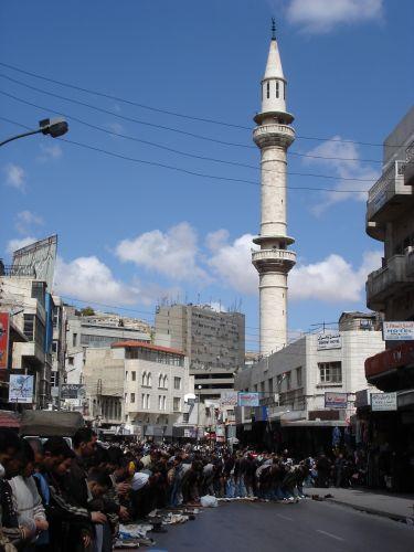 Zdjęcia: Amman, modlitwa, JORDANIA