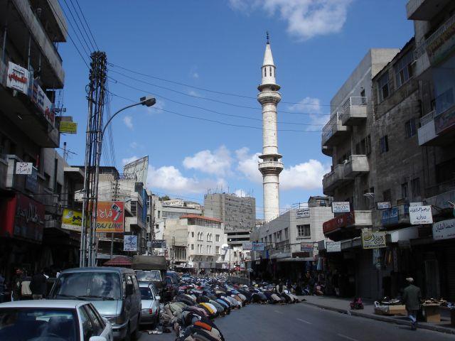 Zdjęcia: Amman, modlitwa 2, JORDANIA