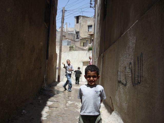 Zdjęcia: Amman, zaulek, JORDANIA
