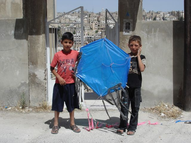 Zdjęcia: Amman, latawiec, JORDANIA