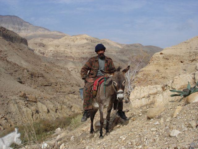 Zdjęcia: Vadi Mujib, Ahmad- beduin z Vadi Mujib, JORDANIA