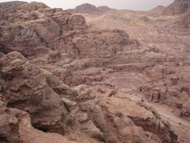 Zdjęcia: Petra, Amfiteatr 2, JORDANIA