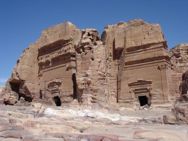 Zdjęcia: Petra, groby, JORDANIA