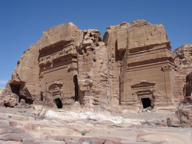 Zdj�cia: Petra, groby, JORDANIA