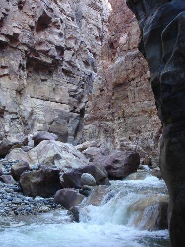Zdjęcia: Vadi Mujib, siq 3, JORDANIA