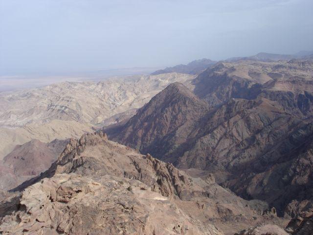 Zdjęcia: Petra, widok z Gory Arona, JORDANIA