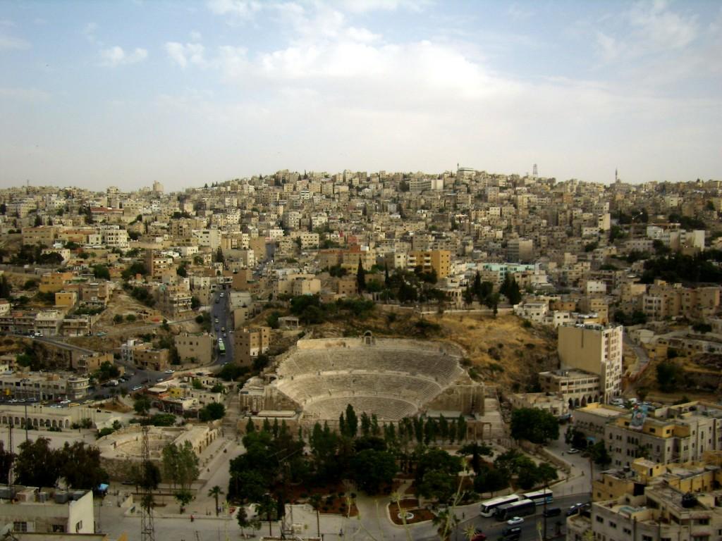 Zdjęcia: amfiteatr rzymski, Amman, amfiteatr rzymski, JORDANIA