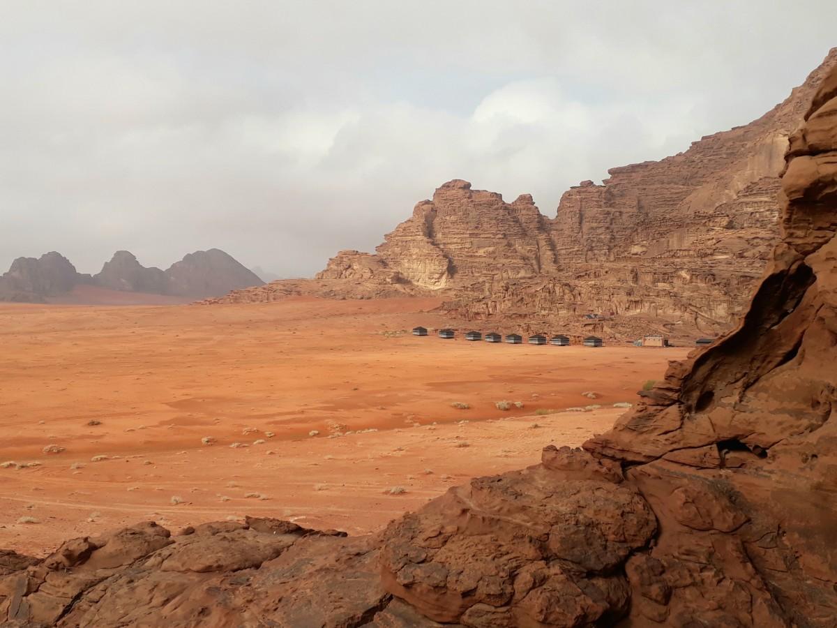 Zdjęcia: Wadi Rum , Wadi Rum , Okolicznosci przyrody na nocleg marzenie , JORDANIA