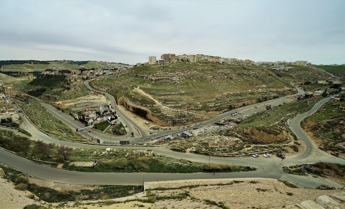 Zdjęcia: Al - Karak, Muhafaza Ma'an, Podzamcze, JORDANIA