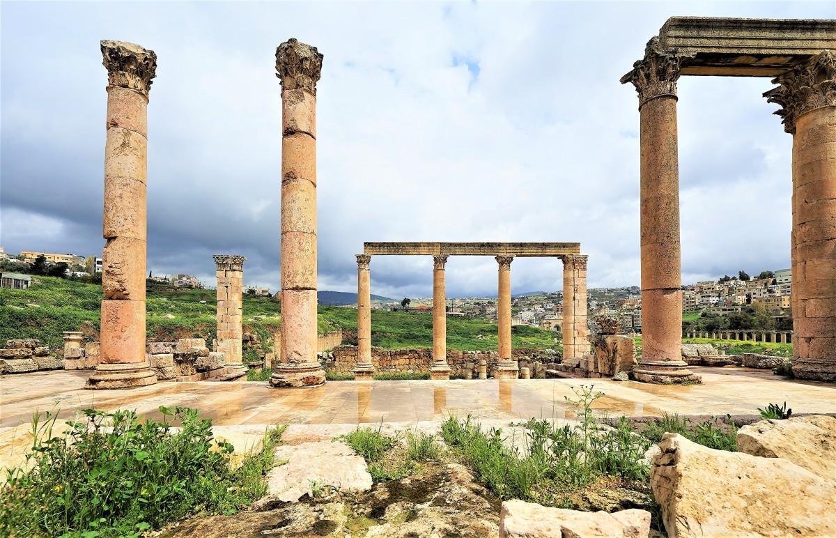 Zdjęcia: Jerash, Amman, Architektura Rzymska, JORDANIA