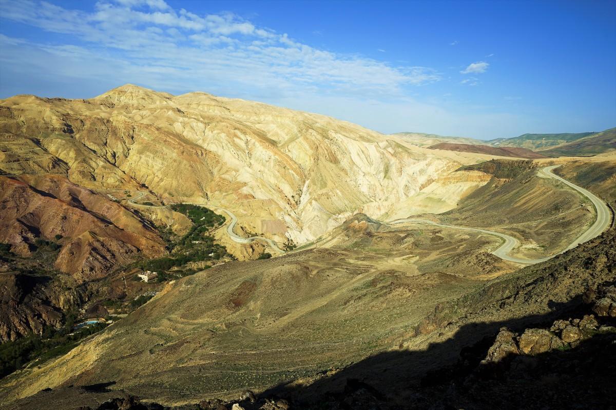 Zdjęcia: ., Morze Martwe, Hammamet Ma'in, JORDANIA