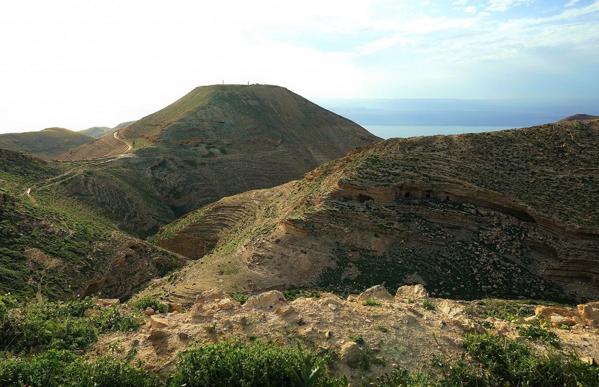 Zdjęcia: ., Morze Martwe, Macheront - twierdza Heroda Wielkiego, JORDANIA