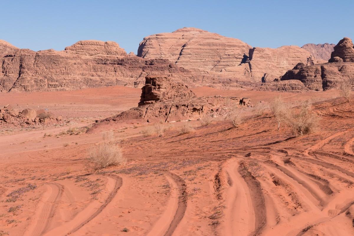 Zdjęcia: Wadi Rum, Wadi Rum, Kolory pustyni, JORDANIA