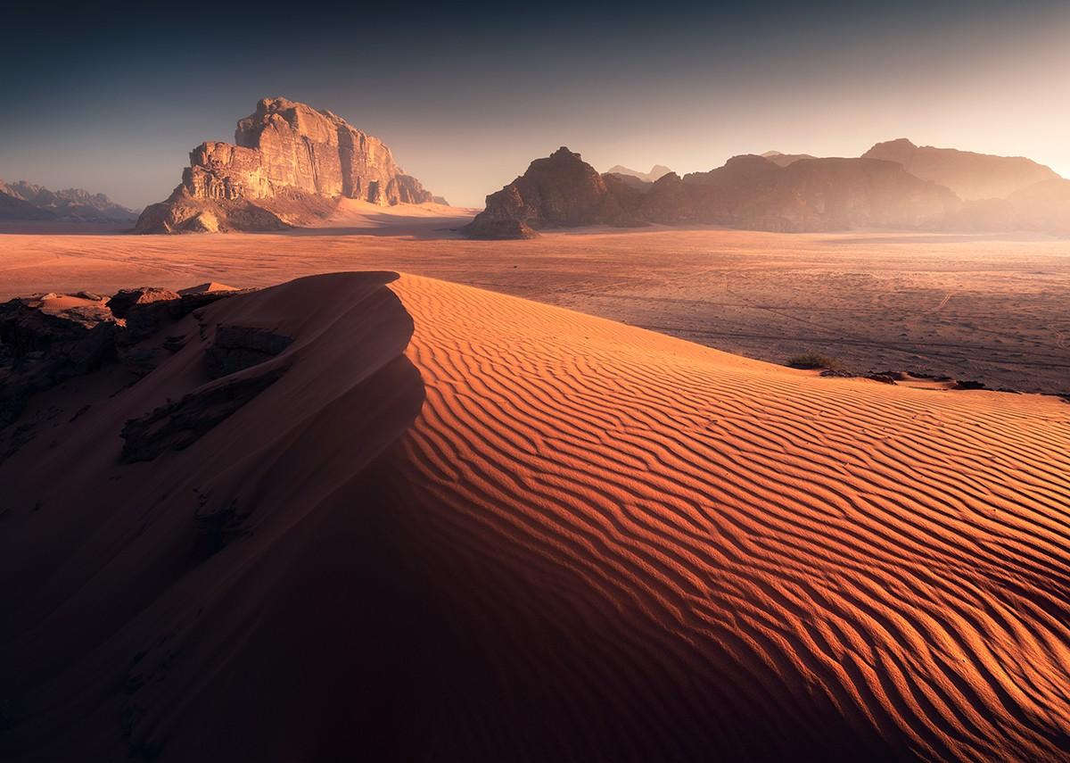 Zdjęcia: Wadi Rum, Wadi Rum, Poranek na Wadi Rum, JORDANIA