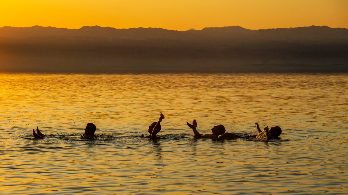Zdjęcia: Morze Martwe, Dolina Jordanu, Morze Martwe, JORDANIA