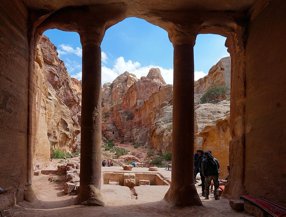 Zdjęcia: Petra, Muhafaza Ma'an, Widok, JORDANIA