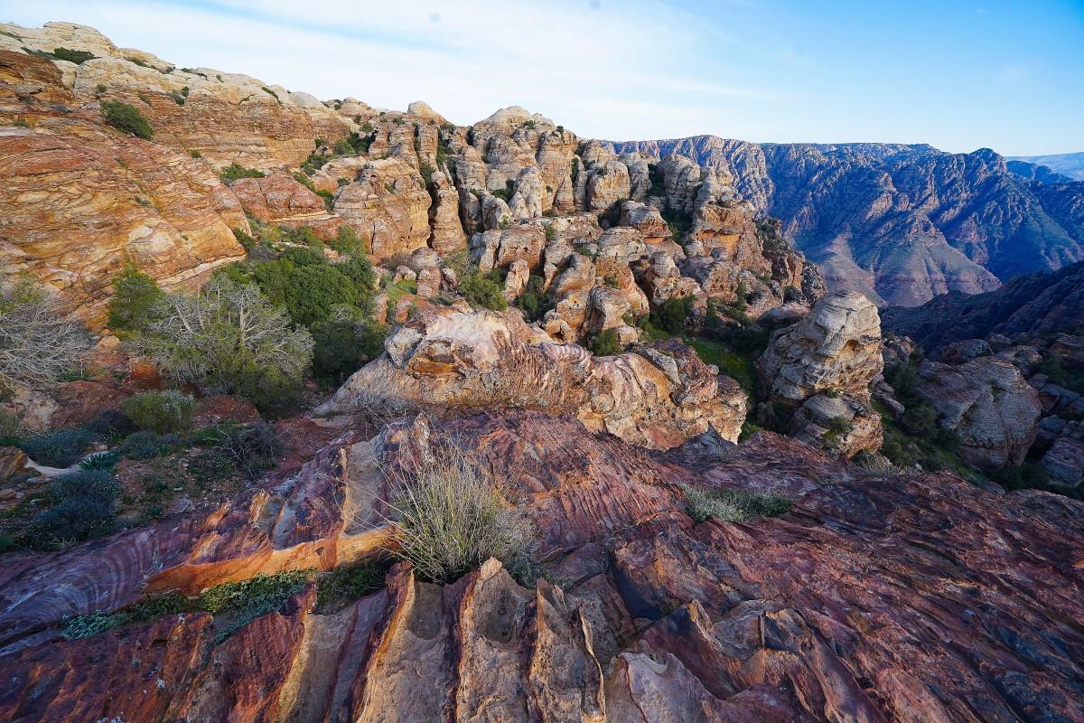 Zdjęcia: Dana, Tafilah, Formacje skalne, JORDANIA