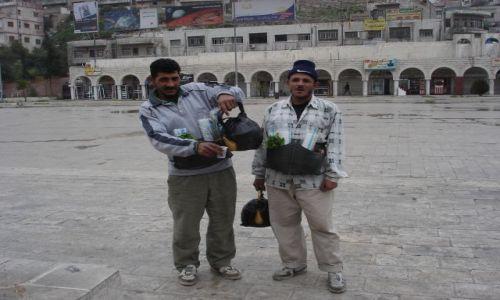 Zdjecie JORDANIA / brak / Amman / sprzedawcy herb