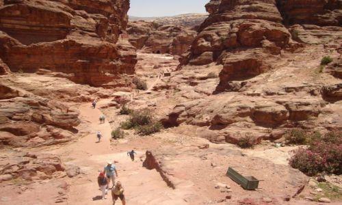 Zdjecie JORDANIA / Pd. zach. Jordania / Petra - Królestwo Nabatejczyków. / Moja Jordania :)