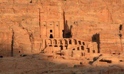 Zdjęcie JORDANIA / brak / Petra / Zachód słońca