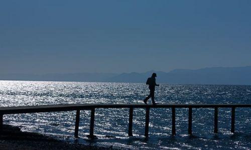 Zdjęcie JORDANIA / - / Aqaba / Morze Czerwone w wielkim błękicie