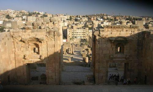 Zdjecie JORDANIA / bliski wschód / Jordania / JERASH