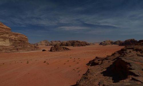 Zdjecie JORDANIA / pustynia Wadi Rum / pustynia / lawrance z arabii