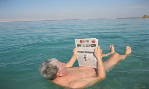 Zdjecie JORDANIA / - / Morze Martwe   Jordania / KONKURS Zawsze z Gazetą Wyborczą Morze Martwe