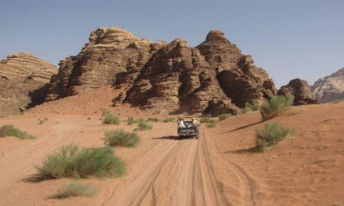 JORDANIA / Południowa jordania / Wadi rum / Wadi Rum