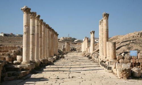 Zdjęcie JORDANIA / Jerash / Jerash / Gereza  - podróż w czasie