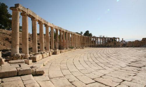 Zdjęcie JORDANIA / Jerash / starożytne miasto Jerash / Jerash - miasto, które trzeba odwiedzić.